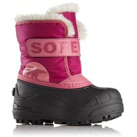 Sorel Snow Commander Boots Children pink/black